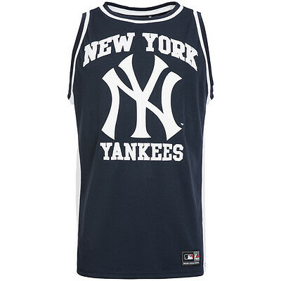New York Yankees Majestic Rinco Mesh MLB Tank Top Shirt S M L XL NYY Baseball
