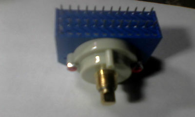 12 New Knoll Sys 12 position Volume Control Rotary HQ Switch,24Pin,Audiophile