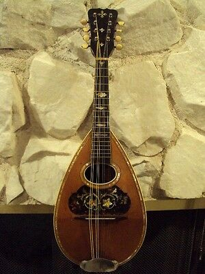 Antique Lyon & Healy Mandolin,Over 100 Year Old,Excellent Condition,Great Player