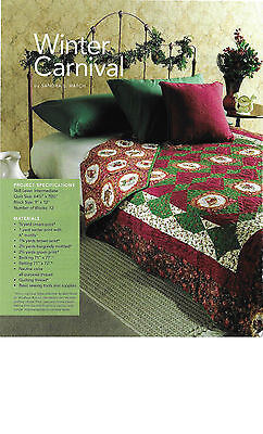Winter Carnival Quilt Pattern From Magazine