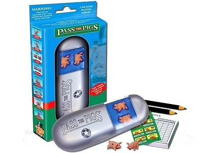Pass The Pigs Classic Party Game Travel Games BRAND NEW