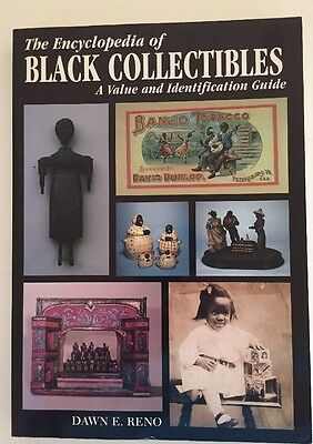 1996 Encyclopedia Black Americana Collectibles Identification Price Guide Book