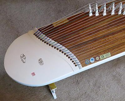 Professional Fine Certified Unique Chinese Guzheng Harp Zither Special Collect