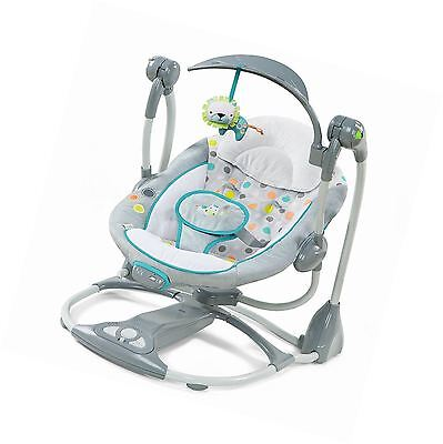 Ingenuity ConvertMe Ridgedale Swing-2-Seat Baby infant Portable New