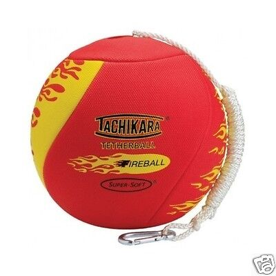 Tetherball Set Super Soft Fireball Kids Outdoor Ball Sports Game Free Shipping