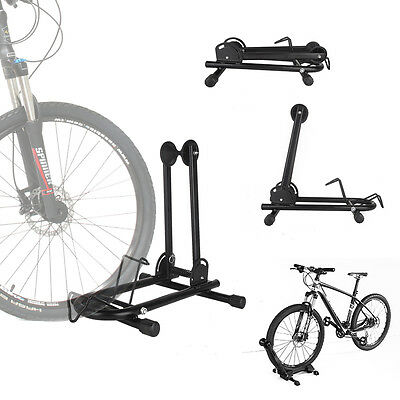 """""""L"""" Style Single Bike Floor Parking Park Bicycle Cycling Storage Stand Display"""