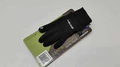 NEW Head Multi-Sport Running Gloves with SENSATEC-Black Adult XS