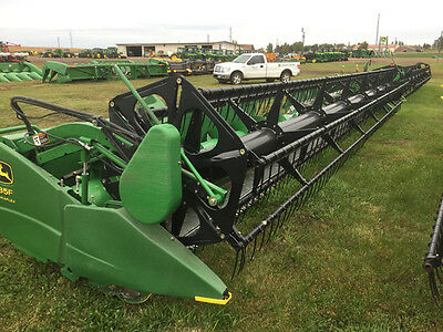 2007 John Deere 635F Headers