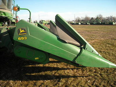 2004 John Deere 693 Headers
