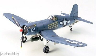 Tamiya 61070 1/48 Scale Fighter Aircraft Model Kit Vought F4U-1A Corsair Mk II