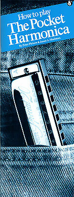 HOW TO PLAY THE POCKET DIATONIC HARMONICA Music Book Learn Blues Mouth Organ