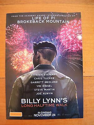 Billy Lynns double movie pass **FREE POSTAGE**