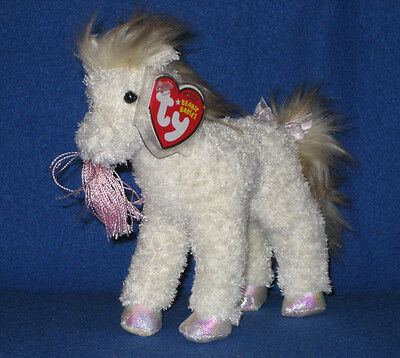 TY WHIFFLES the HORSE BEANIE BABY - MINT with NEAR MINT TAG - SEE PICS