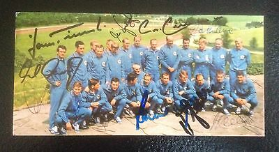 West Germany 1966 World Cup   Photo Signed By 12
