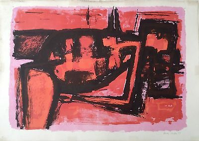 """HENRY CLIFFE 1919-1983 Limited edition Lithograph 1958 """"Hera"""" 34/50"""