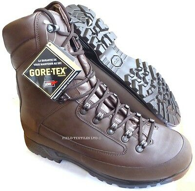 British Army Karrimor Sf Brown Goretex Cold Weather Boots - Size 7 Wide - New