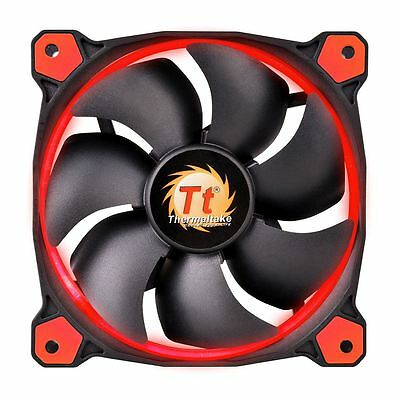 Thermaltake Riing 14 Led 140mm Case Cooling Fan High Static Pressure 14CM - Red