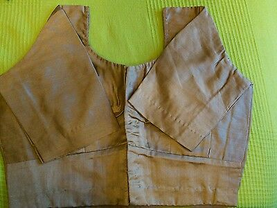indian beige  sari blouse ( only worn once \ twice)