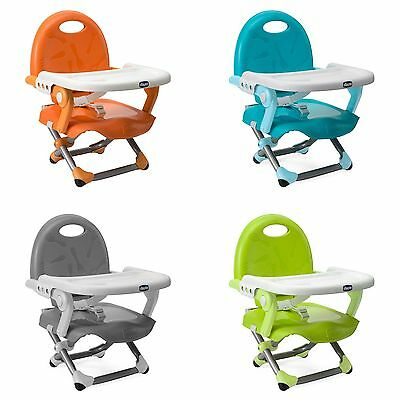 Chicco Pocket Snack Portable / Travel Adjustable Table Booster Seat / Chair