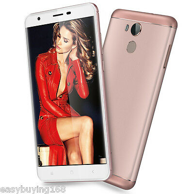 """3GB+32GB OUKITEL Rosa 5.5"""" 4G Móvil Smartphone Android6.0 16MP Octacore Touch ID"""