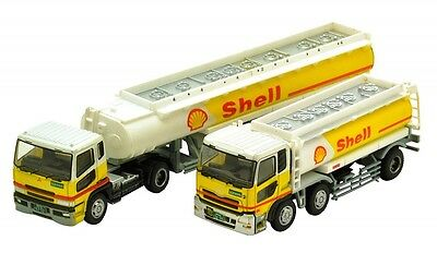 """The Trailer Collection """"Shell"""" (2 Trailer Set) 1/150 N scale Tomytec"""