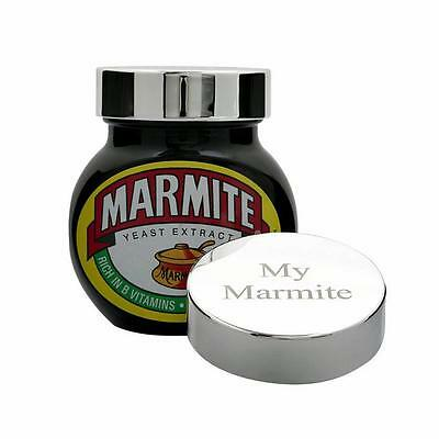Roberts & Dore - Silver Plated Savoury Spread Lid - My Marmite - Gift Boxed