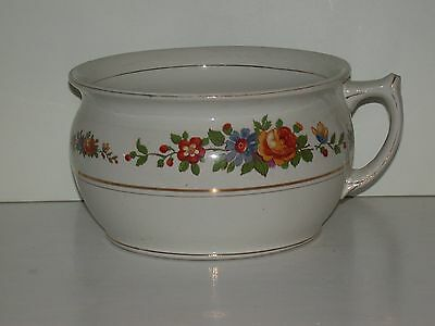 Vintage Floral Chamberpot