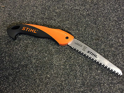 """Stihl Handycut Folding Hand Saw 6"""" Conical Blade For Small Branches - FREE POST!"""