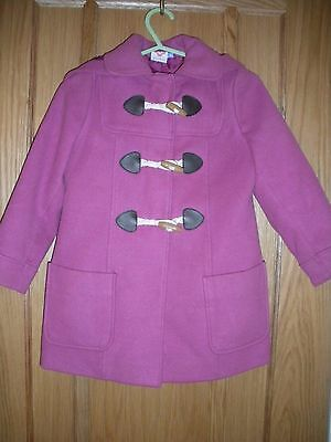 Beautiful Girls John Lewis Duffle Coat Age 4 In Fab Condition