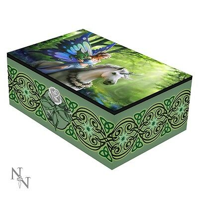 Nemesis Now Tarot Card Box Realm Of Enchantment* Anne Stokes Occult/witch Boxed