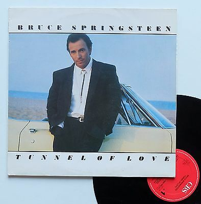 "Vinyle 33T Bruce Springsteen  ""Tunnel of love"""