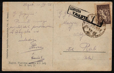 Yugoslavia - Issue Slovenia GREAT COLL. 19.. Card, TRISTE and other canc. #56