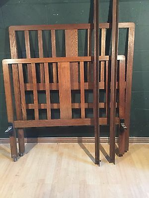 Retro Vintage Oak Traditional Bed Frame Small Double