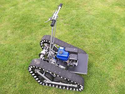 Magic Carpet Go Kart, (Personal Tracked Vehicle) Build Plans Only