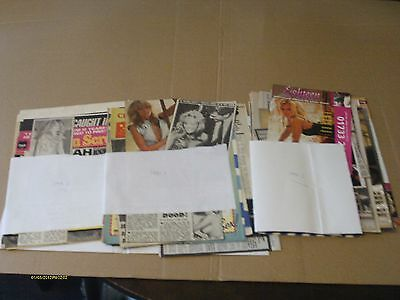70+ Farrah Fawcett Clippings From Newspaper & Magazines - 1970's To 1990's