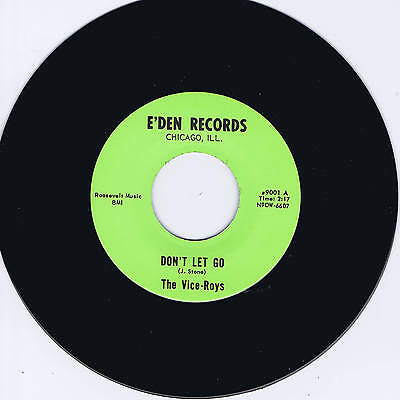 THE VICE-ROYS - DON'T LET GO - GREAT 1960s GARAGE / ROCKABILLY JIVER - REPRO