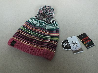 Buff Knitted & Polar Hat Neper Magenta. Never worn.  Tags removed.