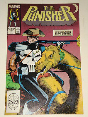 Marvel Punisher Issue # 19 May 89 'the Spider' Good Condition