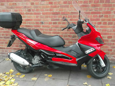 Gilera Nexus 250 Sp Great Comuter Scooter Or Runabout Full Service History
