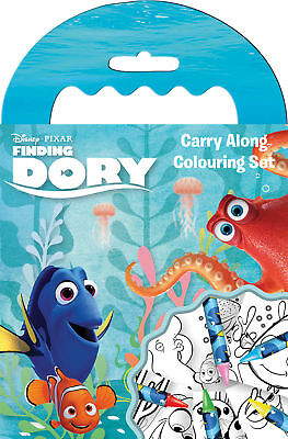 Disney Pixar's Finding Dory Carry Along Colouring Pad Party Activity Set Kids