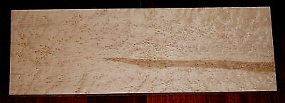 """Curly Quilted Birdseye Maple Lumber 22"""" x 7-1/2"""" x 7/8"""""""