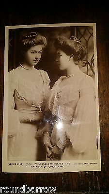 1902 Antique Royal Postcard Rp - Princesses Margaret And Patricia Of Connaught