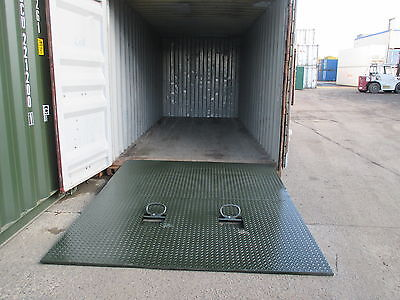 Shipping Container Forklift Ramp For Sale