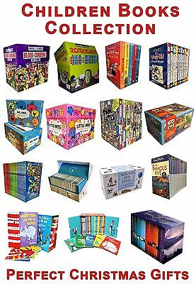 Children Books Collection Set Christmas Gifts Harry Potter, Roald Dahl ....