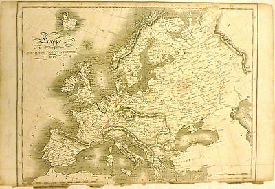 Europe According to the General Treaty of Vienna. 1816
