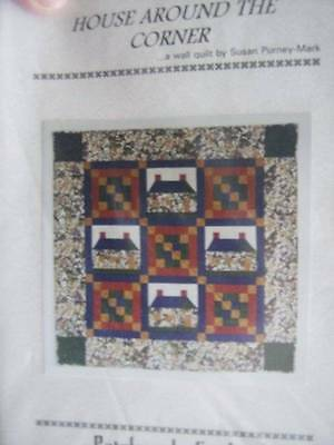 House Around The Corner Quilt Sewing Pattern-40x40 Inches-Patchworks Studio, 199