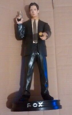 vintage   FOX MULDER  figure  X FILES    mid 1990s   scale 1:6     free post