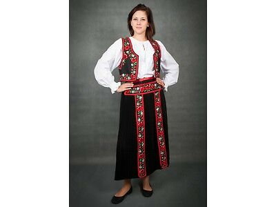 Traditional  Kalotaszeg  Hungarian Hand Embroidered folk art  outfit all size