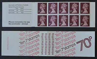 1977 70p Booklet FD1a