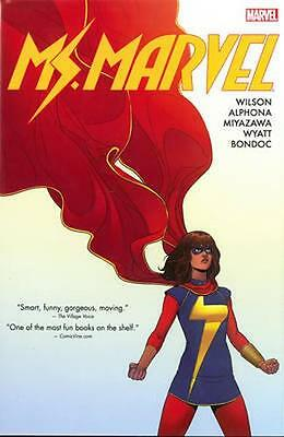 NEW Ms. Marvel Omnibus Vol. 1 by G Willow Wilson BOOK (Hardback) Free P&H